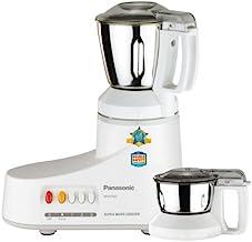 Panasonic MX-AC220-H 550-Watt 2-Jar Super Mixer Grinder (Grey)