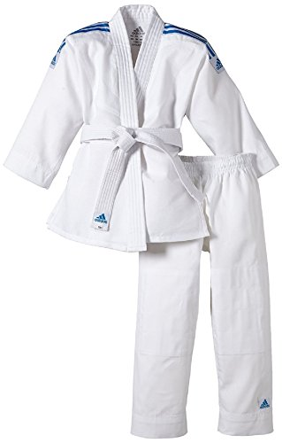 adidas Judoanzug Kids Evolution, Doppelgröße 150/160 cm