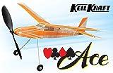 The Vintage Model Company Kit de Maquette d'avion en Bois de balsa à Propulsion de Caoutchouc Ace KeilKraft, 760mm