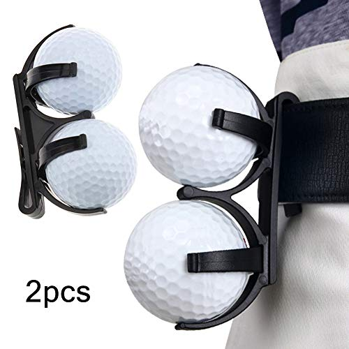 Apofly 2 St. Golf Ballrückholer Golfball Halter Clip Ballhalter Golf Clip Zubehör für Magic Ball Spiele