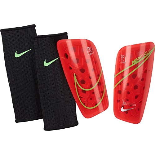 NIKE Merc Lt Grd Protector, Unisex Adulto, Bright Crimson/Rage Green/Silv, Medium