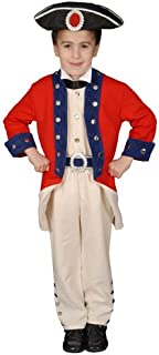 Deluxe Historical Colonial Solider Children's Costume Set by Dress up America