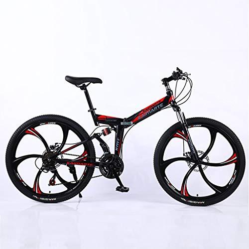 Bdclr 24 speed Dubbele vering Schijfremmen vouw Mountainbike student