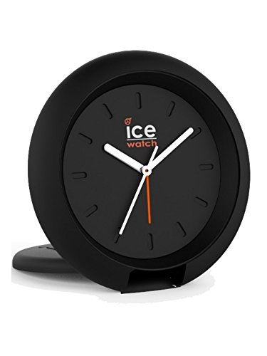 Ice Watch Uhr Ice Travel Clock Analog Alarm Licht Unisex Kunststoff Schwarz 015191