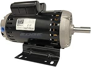 WEG 00636OS1XCD182/4Y ODP Compressor Duty Definite Purpose Motor, 6.4 HP, 1-Phase, 3600 rpm, 240 V, 60 Hz, 182/4Y Frame
