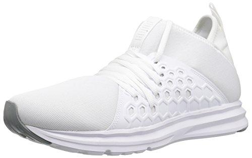 Puma Enzo NF – Zapatillas de deporte para hombre, blanco, blanco, (Puma White-quarry), 12 US