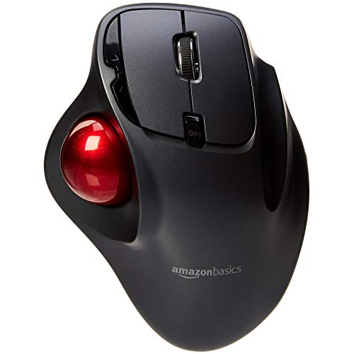 AmazonBasics Wireless Trackball Mouse