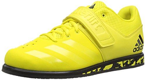 adidas Men's Powerlift.3.1 Cross Trainer, Shock Yellow/Black, 13 M US