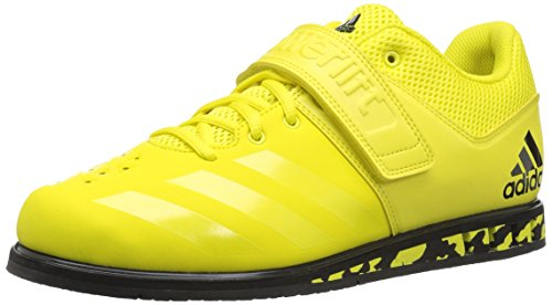 adidas Men's Powerlift.3.1 Cross Trainer, Shock Yellow/Black, 13 M US