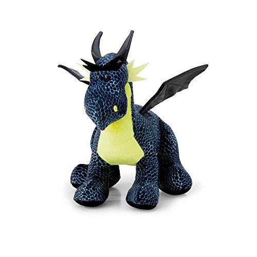NICI 40783.0 Dragons Eisdrache schwarz/blau stehend ca. 30cm, 30 cm