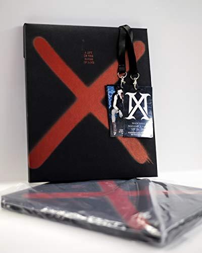 Madonna Madam X Tourbuch + VIP-Pass, 2 VIP-Bücher in limitierter Auflage NUR BÜCHER Wax Sealed Hardcover