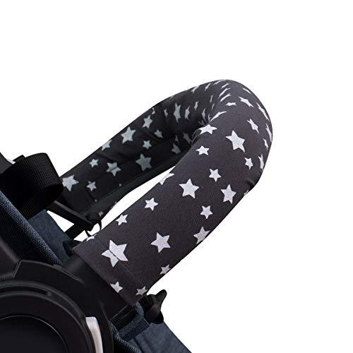 JANABEBE Abdeckung Deckt Griff für Kinderwagen (Winter Sky, Einzel)