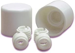 White Danco 88972 Closet Bolt with Round Caps