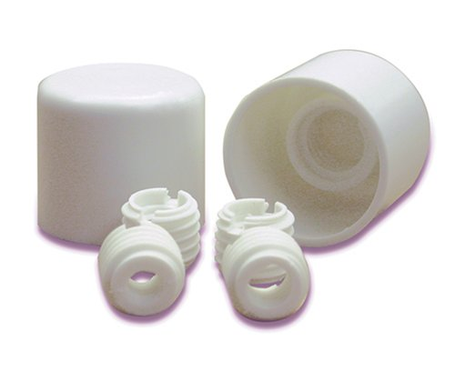 Danco, White 88877 Universal Twister Toilet Caps, Plastic