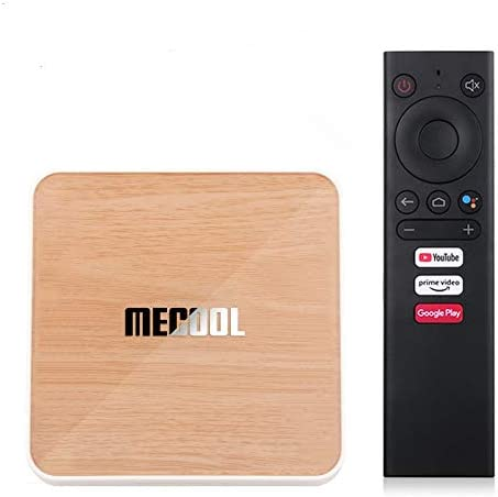 Mecool KM6 Deluxe ATV Google Certified Android 10 Amlogic S905X4 AndroidTV 10 0 Dual WiFi 6 product image