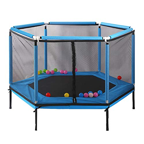 Amazing Deal XinYing-BBC Trampoline with Safety Net Enclosure -for Kids Birthday Gifts Toy- Heavy Gr...