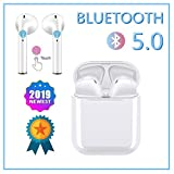 écouteur Bluetooth 5.0 sans Fil Oreillette Bluetooth IPX6 Sport étanche écouteur Stéréo Réduction du Bruit Casque Bluetooth avec 90 Heures Playtime Micro pour Android/iPhone/Samsung