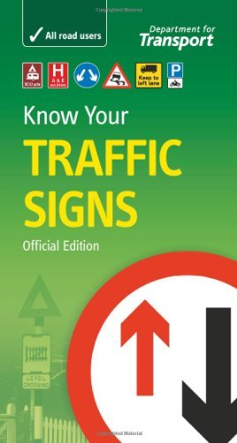 Department of Transport Official Know your Road Signs Book UK