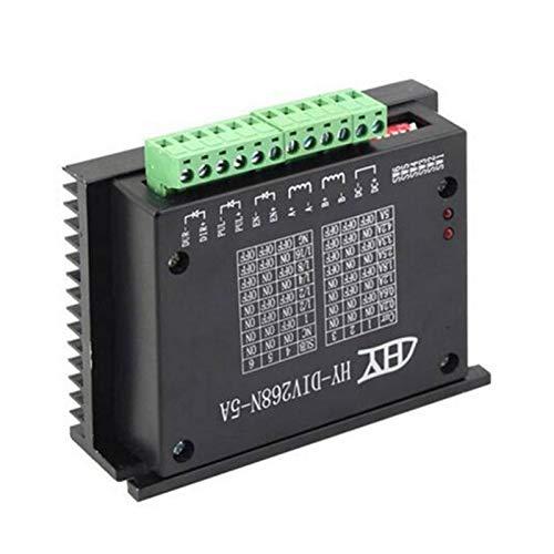 SHIJING TB6600 0.2-5A controller CNC stepper motor driver voor Nema 17/23 tb6600 1 as 2 fase hybride stepper motor