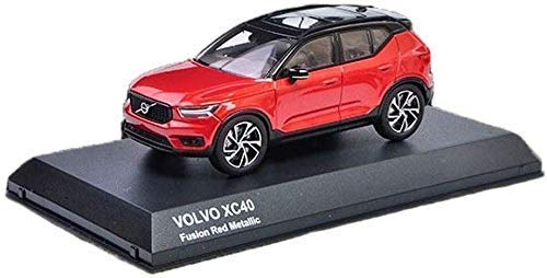 Model auto 01:43 VOLVO XC40 Off-road Alloy auto model decoratie Collection Gift (kleur: rood, Maat: 10 * 5 * 4,5 cm) lili (Color : Red, Size : 10 * 5 * 4.5cm)