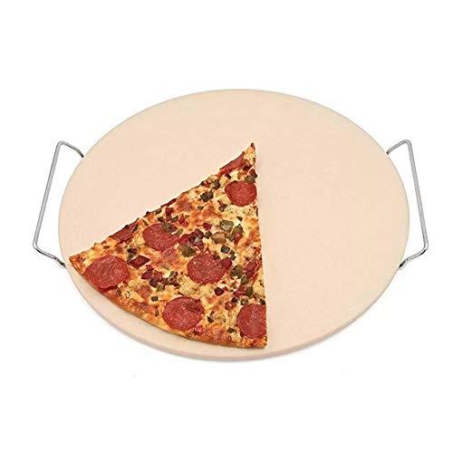 NLYWB Pizzastein, Cordierit, Wasseröl absorbieren, gleichmäßig ohne Platzen...