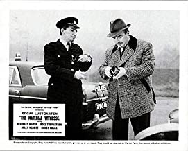 Scales of Justice Material Witness Lobby Card Reginald Marsh Oxford Police car