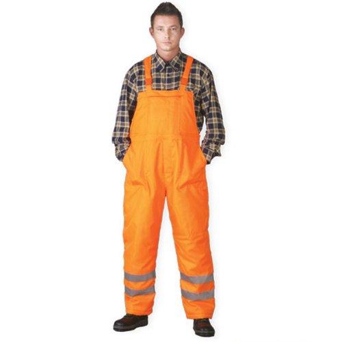 Winter-waarschuwingsbroek gevoerd maat XXXL, veiligheidsbroek, EN 471 werkbroek