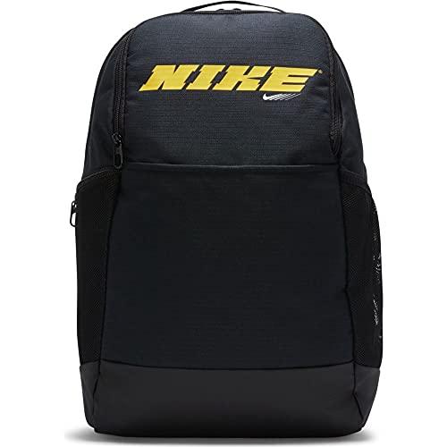 Nike Brasilia, Mochila Unisex Adulto, Light Carbon Mtlc Pewter Peat, Talla única