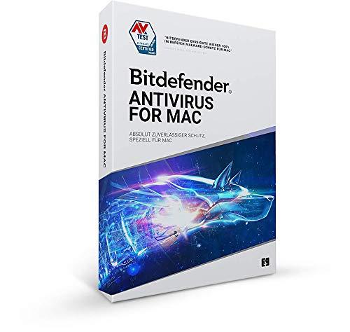 Bitdefender Antivirus for Mac 2021- 1 Geräte | 1 Jahr Abonnement | Mac Aktivierungscode per Post