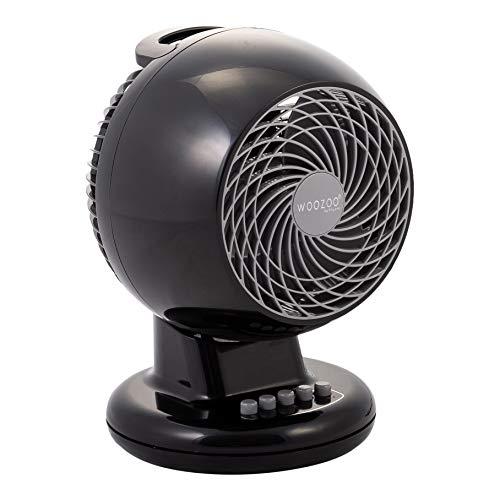 Iris Ohyama Black IRIS, leiser Ventilator \'Woozoo by Ohyama\', PCF-M15, schwarz, 32 W, 13 m², Kunststoff, qm