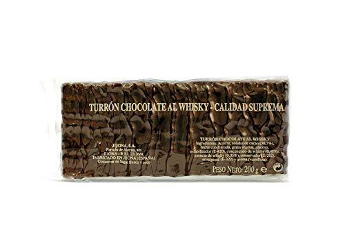 Turrón de Chocolate al Whisky Trufado - 200g - Marca El Abuelo - Auténtico sabor de Chocolate Trufado con licor Whisky
