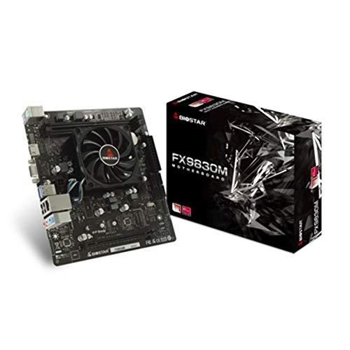 Placa Base Biostar FX9830M SoC con procesador AMD FX-9830P y Radeon R7
