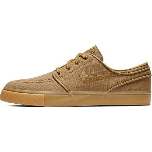 Nike - Zoom SB Stefan Janoski Canvas - 615957204 - Farbe: Beige-Braun - Größe: 45 EU