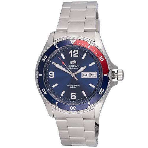Orient watch Mako II diver men silver