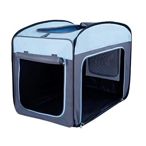 EIN gemütlicher, gepolsterter Kindersitz mit einem robusten Rückhaltesystem, das kleine bis mittelgroße Hunde zu vielem mehr bringen (Color : Blue Gray, Size : L)