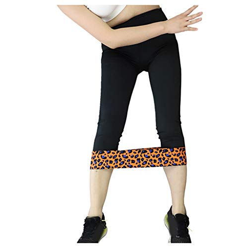 Review Of Leopard Exercise Band - Animal Print Workout Bands Non Slip Resistance Booty Bands for Leg...
