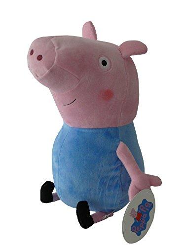 Peppa Pig - George Clasique 27cm - Qualité super soft - Peluche - Ouast