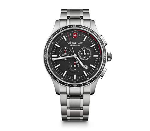 Victorinox Hombre Alliance Sport - Reloj de Acero Inoxidable con cronógrafo de fabricación Suiza 241816
