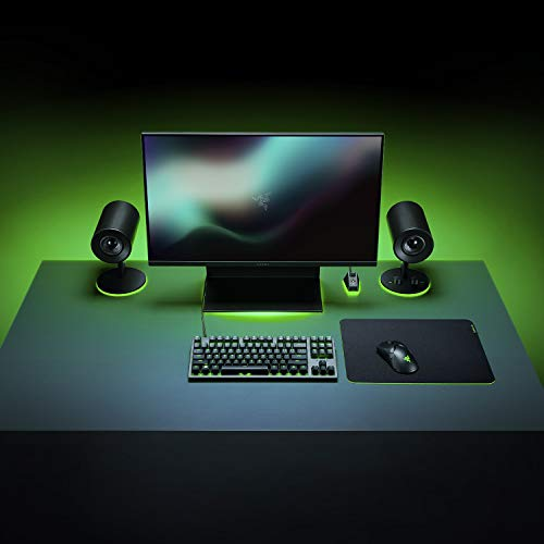 Gigantus V2 Medium - Soft Gaming Mouse Mat for Speed and Control,360 x 270 x 3 mm, Non-Slip Rubber, Textured Micro-Weave Cloth