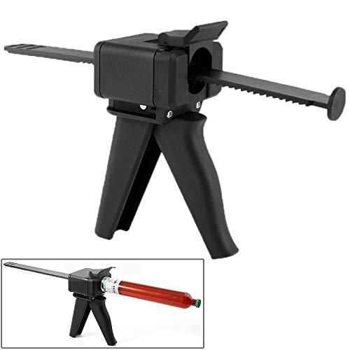 Believewang Gute UV LOCA Flüssigkeit Optisch Klar Klebstoff Squeeze Sprayer Kartuschenpistole Werkzeug, Gelegentliche Farblieferung
