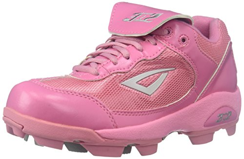 3N2 Youth Rookie Shoes, Pink, Size 3