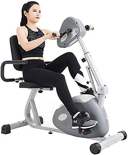 NMDCDH Pedal Exercisers,Portable Home Fitness Mini Exercise Bike for Arm Foot Leg Knee Physical Therapy Rehabilitation Bike 912