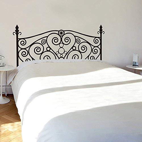 Art Mural decorativo para cabecero de cama, estilo shabby chic, para cama no cabecero real, texto en inglés