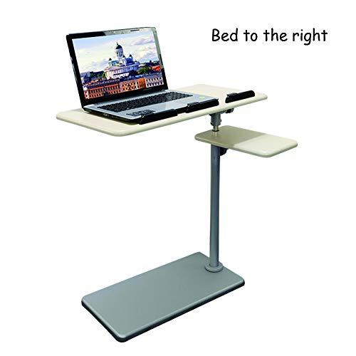 HJ-CGZ nachtkastje, afneembaar aan de rechterkant van het bed, een eenvoudige tafel, laptop, kantelbare tafel, in hoogte verstelbaar.