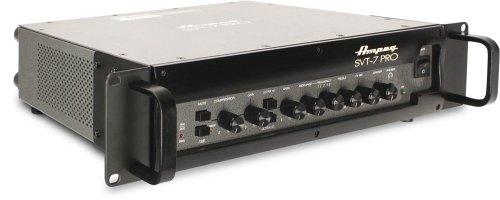 Ampeg SVT-7PRO BASS Head Verkabelt Schwarz - Audioverstärker (D, 5%, 72 dB, -12-12 dB, 1000 W, 600 W)