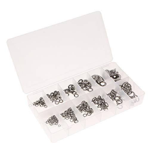Homyl 350x Rondelles Plates Assorti Rondelles Ressort Réparation Accessoire Bricolage