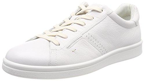 ECCO Kallum, Scarpe da Ginnastica Basse Uomo, Bianco (White), 45 EU