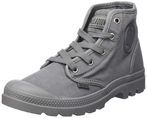 Palladium Damen Us Pampa Hi F Hohe Sneaker, Grau (Titanium 821), 39 EU
