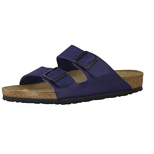 Birkenstock Schuhe Arizona Birko-Flor Normal Blue (051751) 35 Blau