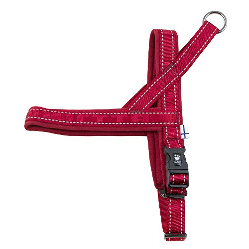 Hurtta Casual Padded Dog Harness, Lingon, 32 in